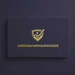 LeihUnternehmenDeinGeld Logodesign