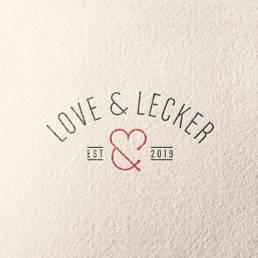 Love & Lecker Detmolder Fass Logodesign