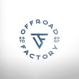 Offroad Factory Logo Monogram OF