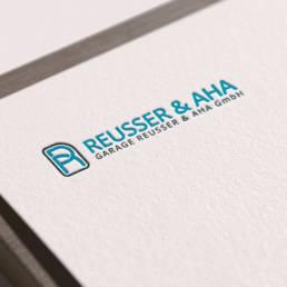Reusser & AHA Garage Logodesign
